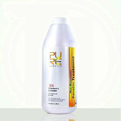 Purc Brazilian Keratin Hair Treatment 0% 5% 8% 12% 1000ml vendita calda pura cheratina raddrizzatura per stiratura per capelli (1PCS 1000ML 5%)