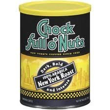 Chock Full oNuts New York Roast 10.5 oz. Pack of (2)