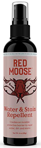 Waterproof Spray for Shoes and Boots - Water and Stain Repellent - Red Moose