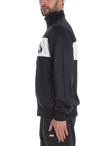 Fila Men Balin Track Jacket 682386-E09 !!es mÄ™skie Chaqueta (L (52), Black/Bright White)