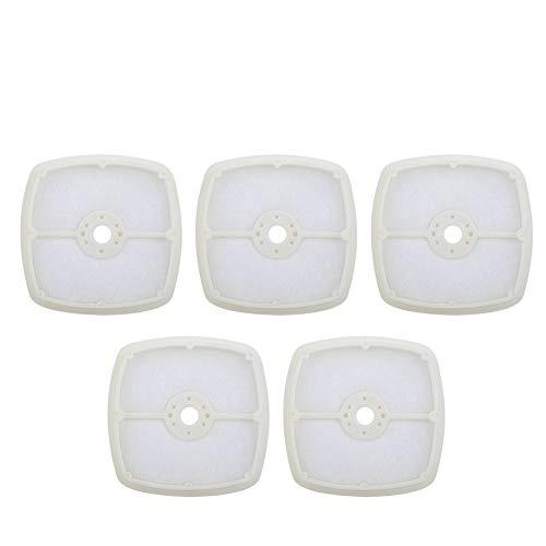 7 cm 5 stuks witte blazer luchtfilter, luchtfilterreiniger, voor ECHO blazer