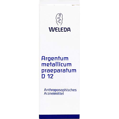 ARGENTUM METALLICUM praeparatum D 12 Trituration 20 g