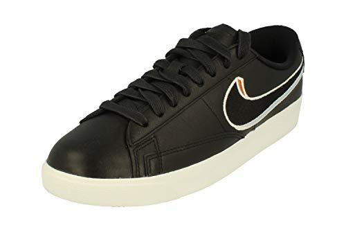Nike W Blazer Low LX, Scarpe da Fitness Donna, Multicolore (Black/Black/Royal Tint/Monarch 001), 40.5 EU