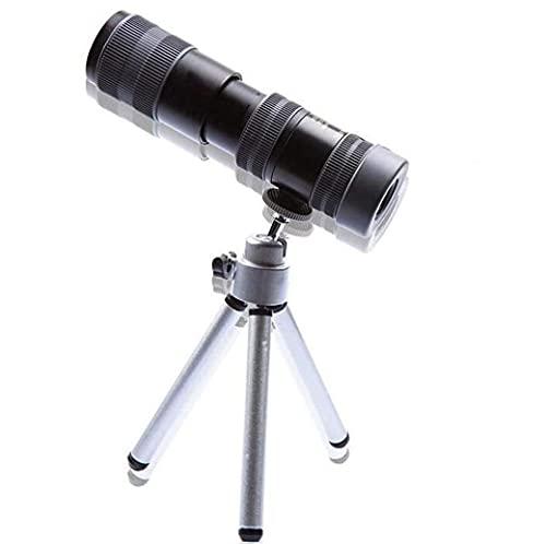 JIAWYJ Teleskop / 10-30x Tragbares Zoom-Teleskop für Telefon-Kamera-Linse Full Metall Hohe Vergrößerungsliste Fernglas Tief Licht Nachtsichttasche skalierbar/Commodity-Code: WXJ-574