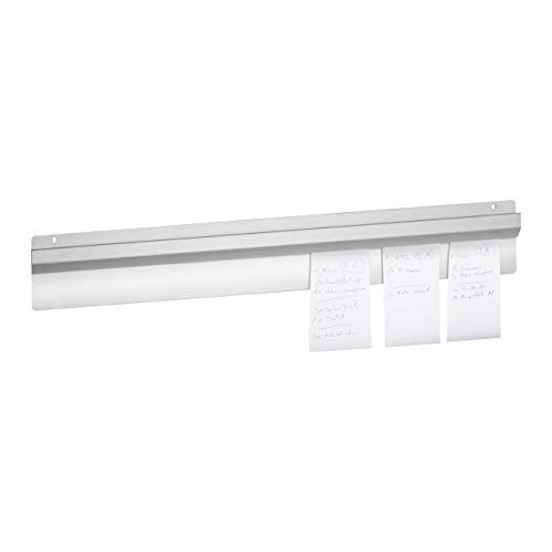 Royal Catering Bill Rail Order Tab Grabber RCBR-50 (50 cm - Stainless Steel - Wall mounting - Secure mounting System)