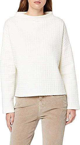 OPUS Damen Gusma Sweatshirt, Elfenbein (Soft Cream 1006), (Herstellergröße: 44)