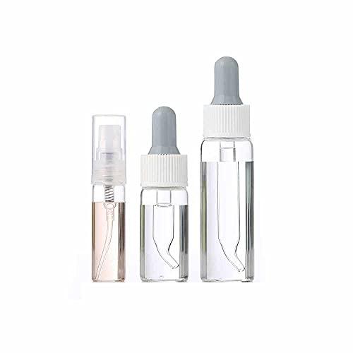 Botella Viaje,Botella Protector Solar Vacía Tarro cosmético, Recarga Viaje portátil, Botella de Spray loción, Botella de Spray portátil vacía