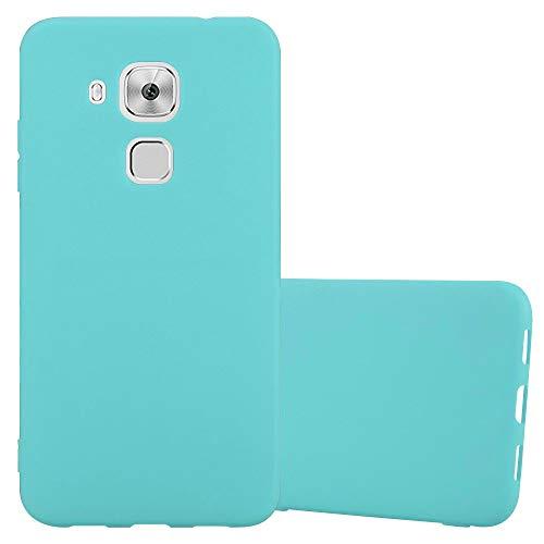Cadorabo Funda para Huawei Nova Plus en Candy Azul - Cubierta Proteccíon de Silicona TPU Delgada e Flexible con Antichoque - Gel Case Cover Carcasa Ligera