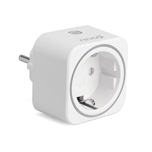 Revogi SmartPlug – Enchufe Bluetooth inteligente controlable programable conectable interruptor inalámbrico contador programador control por Smartphone Android iPhone SH-SPB012FR