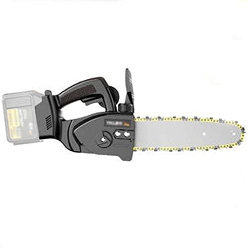 GKZJ Motosierra eléctrica de 21 V 10 Pulgadas, portátil, Mini Motosierra eléctrica Recargable, para Agricultura Poda de árboles,10 Sections 29800mh 2 Electricity 1 Chain 1 Charger