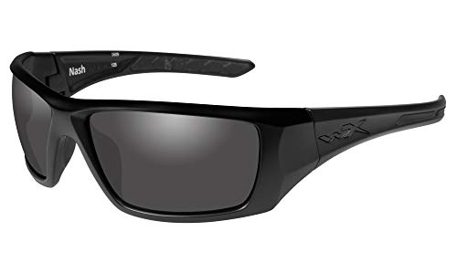 Wiley X Nash Matte Black Frame with Polarized Grey...