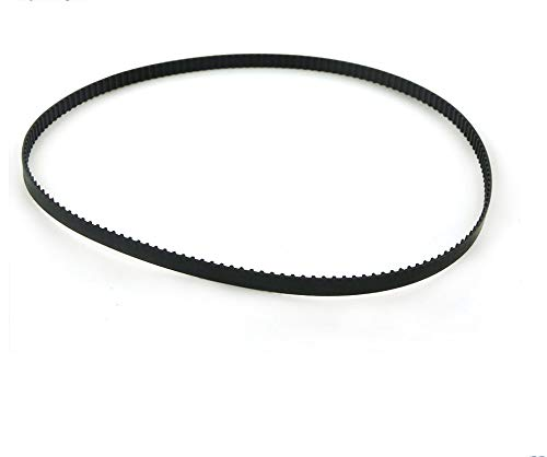 without 1pc XL Timing Belt 570/572/580/592/600/612/616/630/648/670/690/700XL Rubber Pulley Belt 10mm Width Closed Loop Toothed Belt (Size : 592XL)