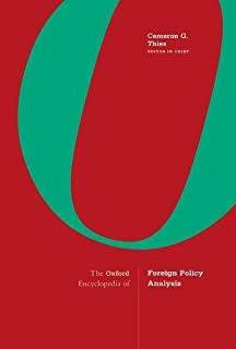 The Oxford Encyclopedia of Foreign Policy Analysis: 2-volume set (019046304X) | Amazon price tracker / tracking, Amazon price history charts, Amazon price watches, Amazon price drop alerts