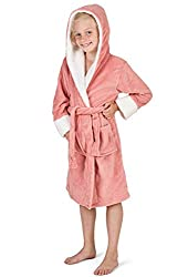 🦄 GREAT FOR KIDS: dressing gowns are a must in all seasons! They're great to wear over PJs in the morning, over a swimming costume when coming out of the pool or to relax after a nice bath, especially with the super soft texture, pockets and hood. An...