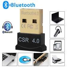 Ultra-Mini Bluetooth CSR 4.0 USB Dongle Adapter, Windows XP, 7,8,10, Data Rate 3 Mbps, 33ft RANGE1 Year Warranty