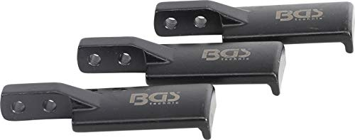 BGS 7760-2 | Vervangende klauwen voor trekarmen | Extra smal | 3-delig | Voor art. 7760