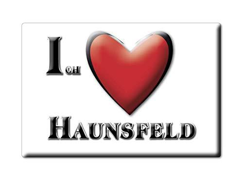 Enjoymagnets HAUNSFELD (by) Souvenir Deutschland Bayern Fridge Magnet KÜHLSCHRANK Magnet ICH Liebe I Love