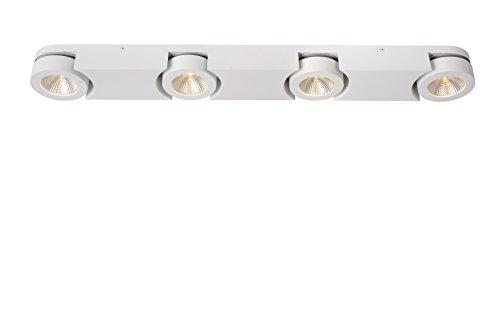 Lucide MITRAX-LED - Spot Plafond - LED Dim. - 4x5W 3000K - Blanc