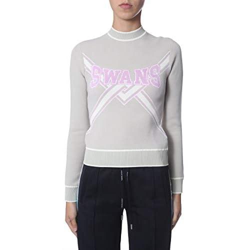 OFF-WHITE Luxury Fashion Donna OWHE013E19B700734125 Grigio Viscosa Maglione | Autunno-Inverno 19