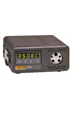 Fluke Calibration 9100S-A-156 HDRC Handheld Dry-Well Hi-Temperature Calibrator, Block A, 35 to 375°C Temperature Range, 115V