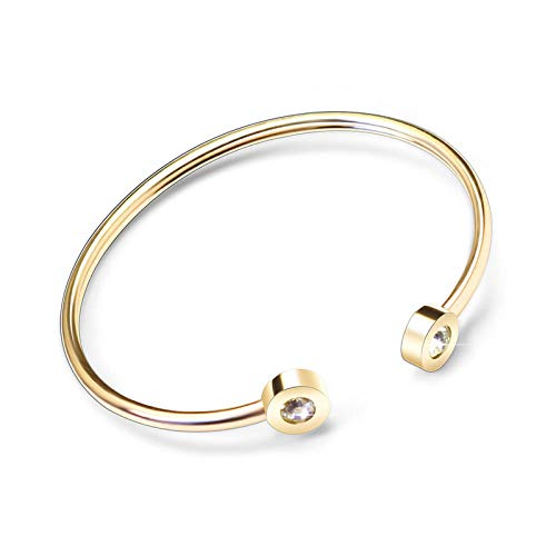 Armband Armbanden Link Armbanden Rose Goud Open Armband Lente Draad Twisted Wire Dubbele Boor Verstelbare Maat Open Armband