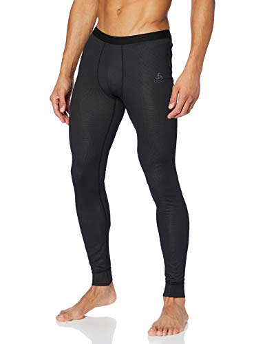 Odlo Herren BL Bottom Long Active F-Dry Light Unterhose, Black, L