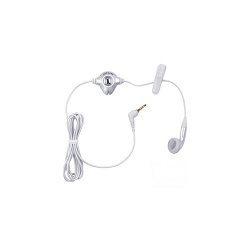 Samsung Factory Original Premium Mono Headset for All Apple iPad/iPhone 4/4S and for Most Cell Phone Models (AEP131SLEB)