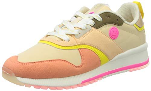 SCOTCH & SODA FOOTWEAR Damen Vivi Sneaker, Coral Multi, 36 EU