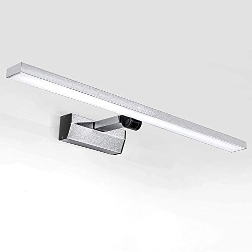 Lightess Lámpara Espejo Baño LED 21W 60 cm 1800LM