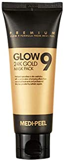 [Medi-Peel] Glow9 24K Gold Mask Pack, 100ml |Moisturizing and Clogged Pore Extractor