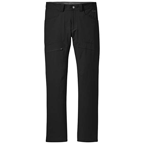 Outdoor Research Men's Voodoo Pants - Hiking Climbing Camping Lightweight Gear Black
