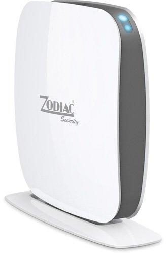 Zodiac Z2 Sistema di Allarme Wireless gsm con Sim Card da Tavolo, Bianco