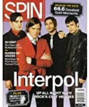 Spin Magazine April 2005 (Interpol! 50 Cent Sex tapes & bulletproof cars! Guided by voices backstage on their Boozy Farewell Tour!)