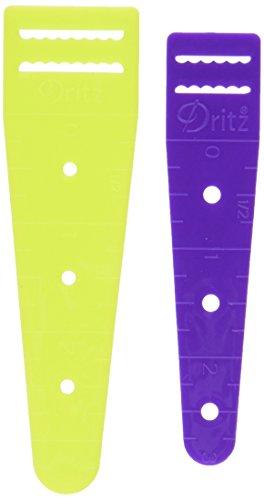 Dritz Sew 101 27535 Elastic Threaders, Size 3/4 & 1-Inch (2-Count)