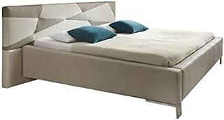 SinoMax Xora Design Lit double en cuir synthétique 180 x 200 cm