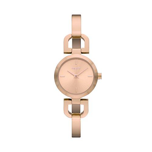 DKNY Damen-Armbanduhr XS Analog Quarz Edelstahl beschichtet NY8542