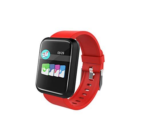Brigmton Reloj Smart BSPORT-17-R Rojo