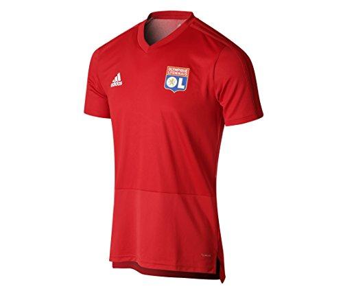 adidas–Camiseta de Entrenamiento para Hombre del Olympique Lyonnais, Olympique Lyonnais, Hombre, Color...