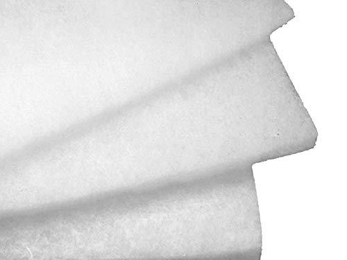 Lederkonzept Polsterwatte Vlieswatte Volumenvlies 1,5m breit 1 cm Stark 100g/m