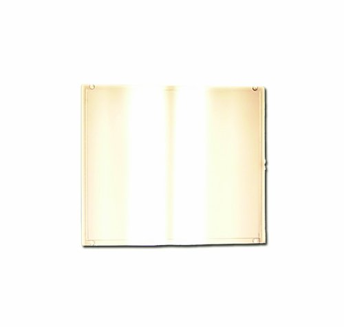 """Sellstrom Welding Filter Plate, Gold Coated Polycarbonate, 4.5""""H x 5.25""""W, Shade 12 IR, S18712"""