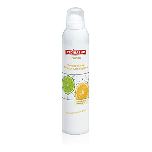 Wellness Cremeschaum Orange- Lemongrass PediBaehr, 125 ml