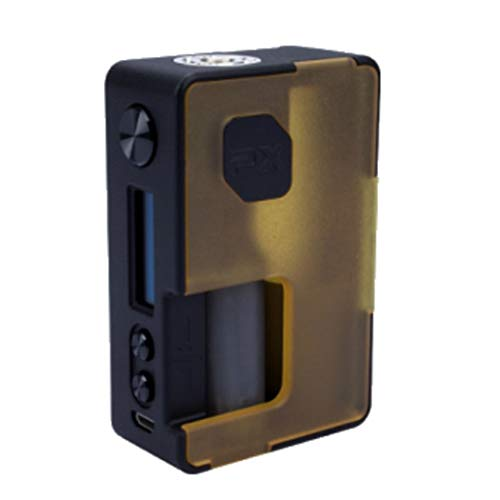 VandyVape Pulse X BF 8ml 90W TC Mod Box Squonker | Frosted (frosted amber)