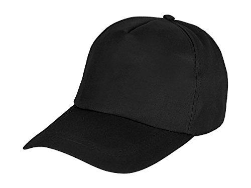 Alsino Baseball Cap Herren Damen Basecap Mütze Jungen Casual Kappe Freizeit Unisex, Variante wählen:CAP-150 schwarz
