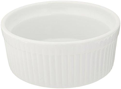 Bia Cordon Bleu 900013 Souffle Individuel Porcelaine Blanc 10 oz