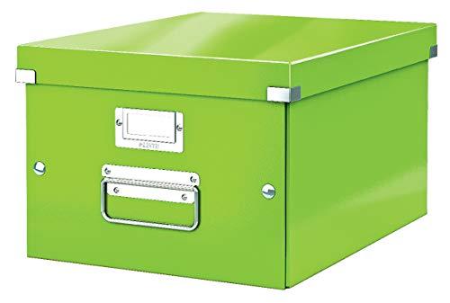 Leitz Aufbewahrungsbox Click & Store WOW Mittel, Grün, M