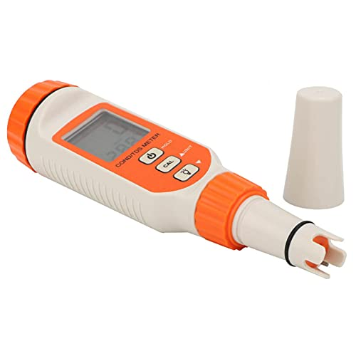 Testeur de qualité de l'eau - Design antidérapant - Écran LCD numérique ergonomique - Pile bouton de grande capacité - Affichage LCD haute...