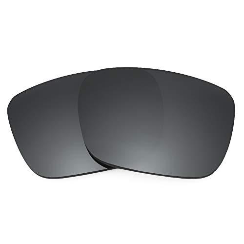 Revant Lentes de Repuesto Compatibles con Gafas de Sol Spy Optic Helm, Polarizados, Negro Cromado MirrorShield