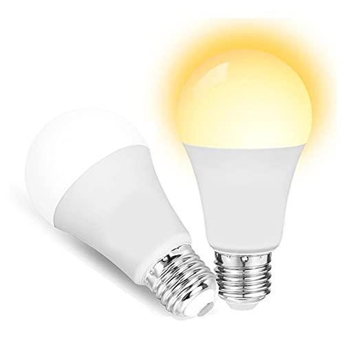 JZlamp 12W WiFi Slimme Lamp E27 LED lámpara RGB Werk Met This RGB + Fresco Blanco + Functie White Functie RGB Bulbo Inteligente (2pcs),CW WW