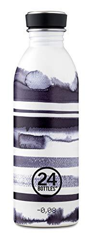 24Bottles - Trinkflasche/Urban Bottle - 500ml Designs, Farbe:Stripes