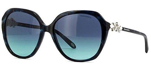 Tiffany & Co. Damen 0TY4132HB 82009S 57 Sonnenbrille, Blau (Shell Bluee/Azuregradientbluee)